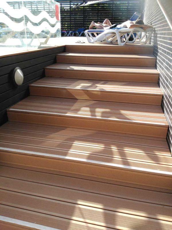 VISENDUM Albaricoque Estriado Escaleras