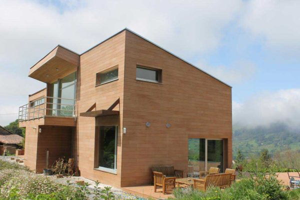 VISENDUM Fachada-casa particular Asturias