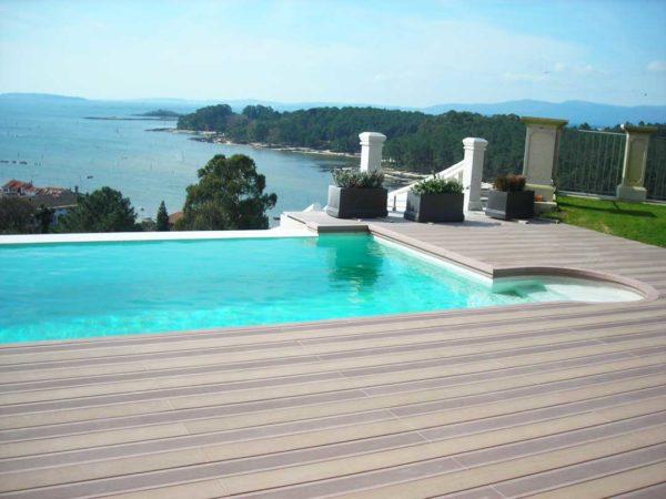 VISENDUM piscinas con curvas de madera tecnológica