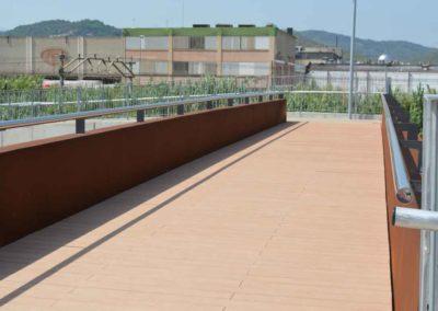 puente pasarela outlet viladecans